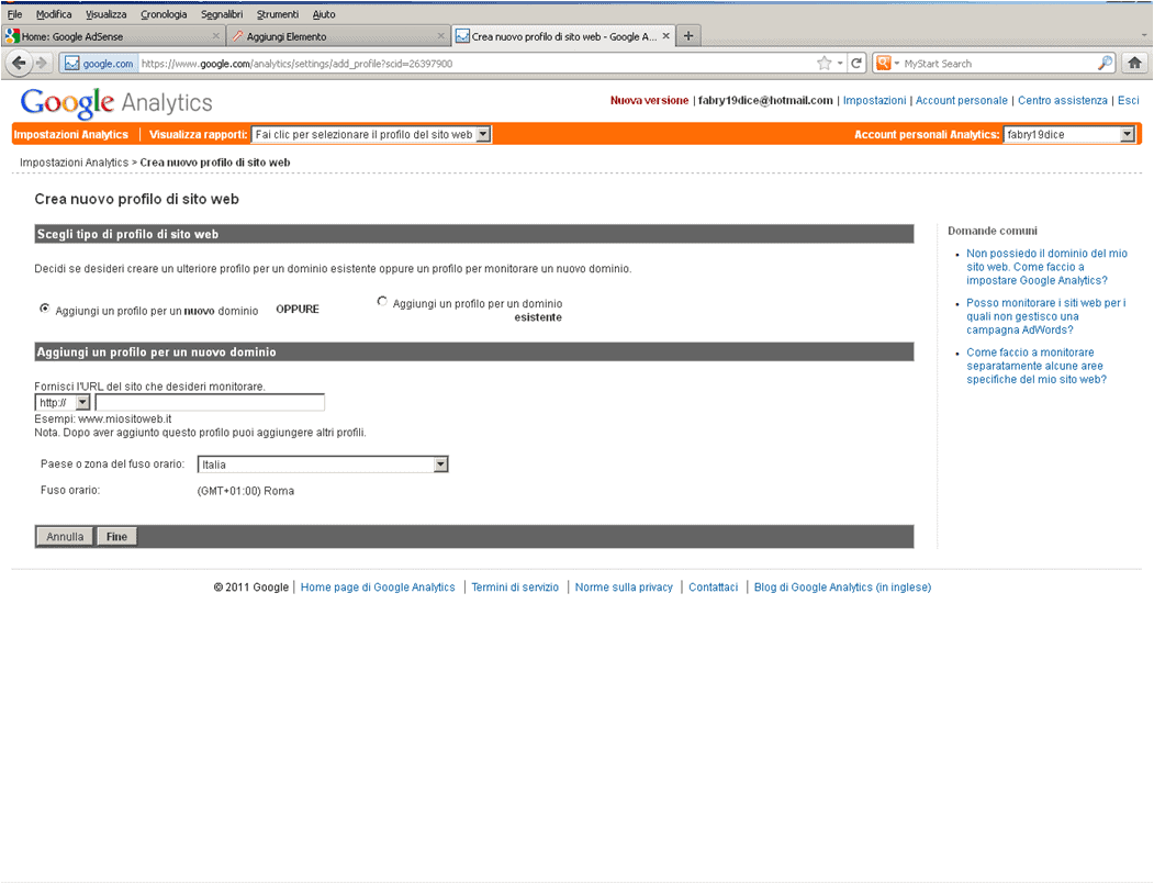 google analytics - Monitorare il proprio Sito con Google Analytics