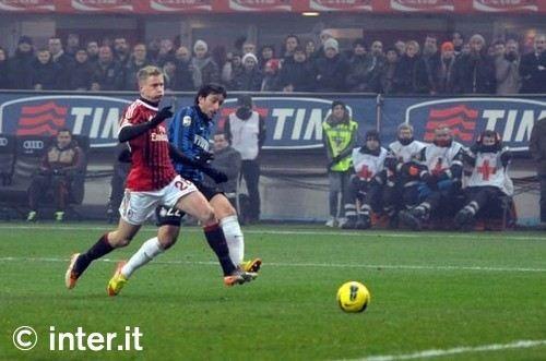 inter milan milito - Serie A 2011-2012: Il commento alla 18esima giornata