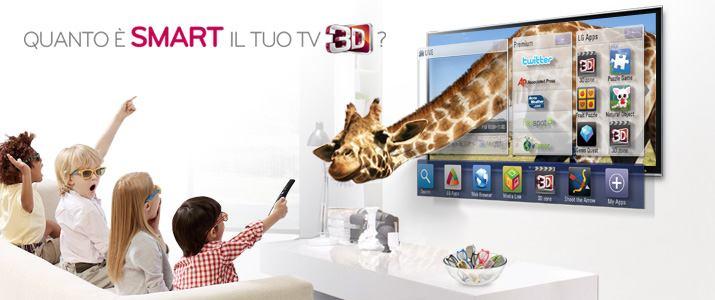quanto e smart tv lg - Benvenuti nel mondo del 3D