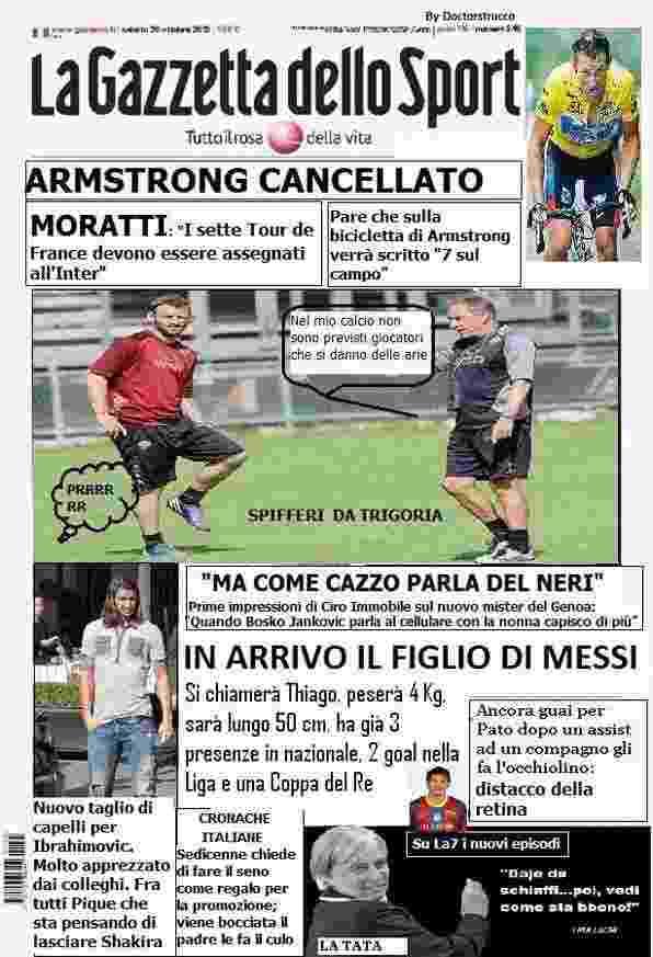 Satira in prima pagina 27 10 - La satira in prima pagina 27 ottobre 2012