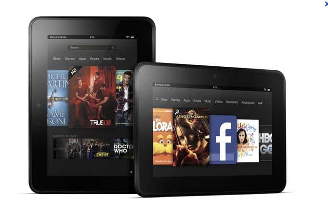 amazon kindle fire hd - Amazon Kindle Fire e Fire HD disponibili per l'acquisto anche in Italia