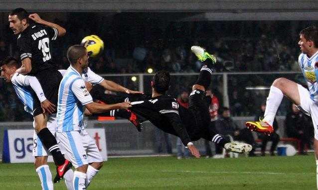 Quagliarella - Serie A 2012-2013 - 12a giornata: il commento