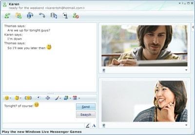 windows live messenger 5 - I migliori servizi di Videochat del 2012