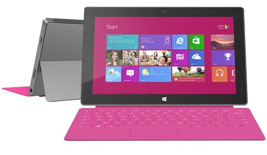 SurfacePink - Microsoft lancia sul mercato i suoi due tablet Surface
