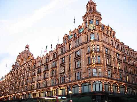 Londra harrods  - Fare shopping a Londra