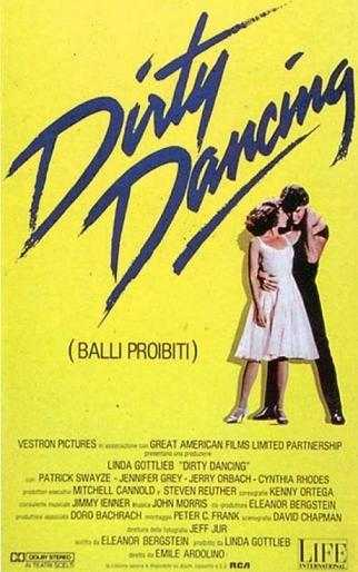 dirty dancing locandina - Dirty Dancing: un film diventato un cult
