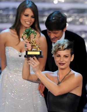 emma - Emma vince la 62esima Edizione del Festival di Sanremo