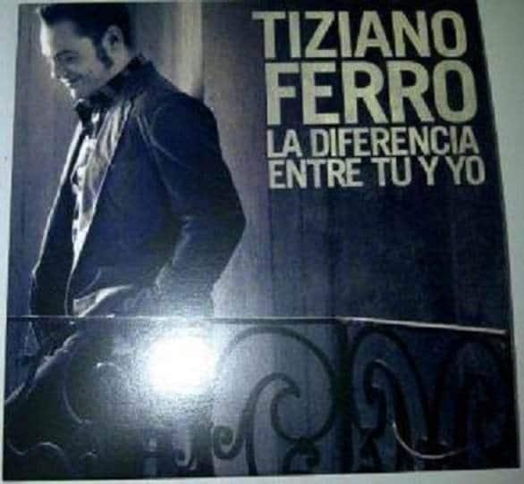 ladifferenzatrameetecover 01 - Nuovo Album di Tiziano Ferro