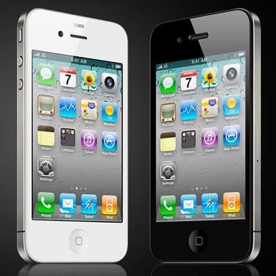 iPhone 4 bianco e nero - iPhone 4 e 4S a confronto