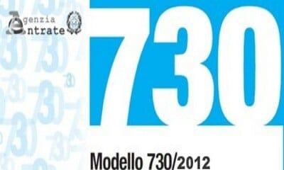 730 2012 modulo online - Aprile: tempo di 730
