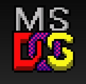 ms dos logo - Il Sistema Operativo MS DOS