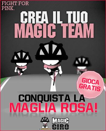 maglia rosa - Come partecipare al Fantasy Game della Gazzetta: Magic Giro 2012