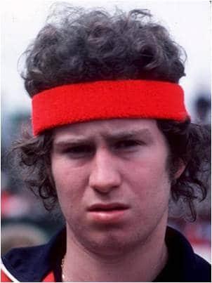 mcEnroe1 - McEnroe il Super Moccioso del Tennis