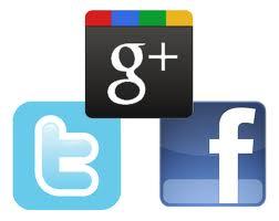 social news - Come allineare su una sola riga i pulsanti Facebook, Twitter e Google Plus
