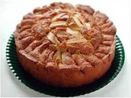 """torta di mele - Torta di mele """"all'incontrario"""""""