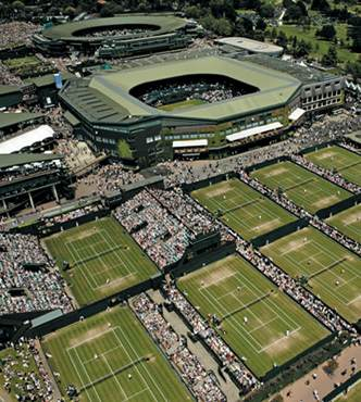 L erba di Wimbledon - Wimbledon 2012: domani il via nell'anno del bis per le Olimpiadi di Londra