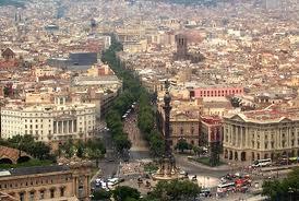 barcellona panorama - Un viaggio a Barcellona