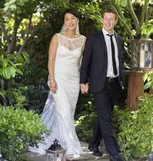 nozze zuckenberg - Il fondatore di Facebook si è sposato