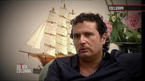 Francesco schettino - Boicottata l'intervista di Schettino a Quinta Colonna