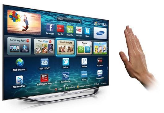 Samsung UN55 ES8000 5 - Nuovi televisori e addio telecomando