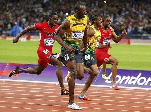 "Usain Bolt Londra 20121 - Olimpiadi di Londra 2012: Bolt vince a 9""63 la finale dei 100 m"