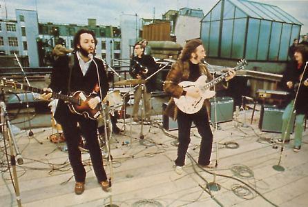 beatles apple tetti 3 - L'ultima esibizione dal vivo dei Beatles