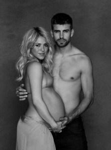 476723 shakira pique pancione - Shakira e Piquè: è nato Milan