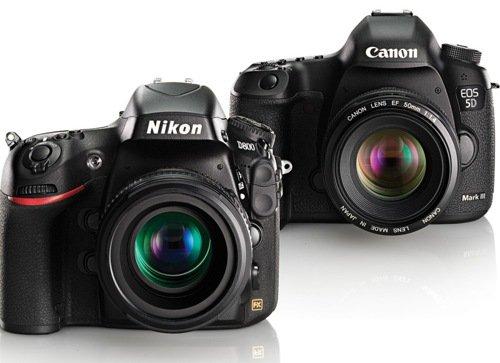 nikon canon - Fotocamere Reflex di fascia alta: Canon e Nikon a confronto