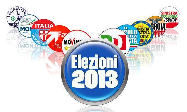 1.Elezioni 2013 - Elezioni politiche 2013: Voi siete qui