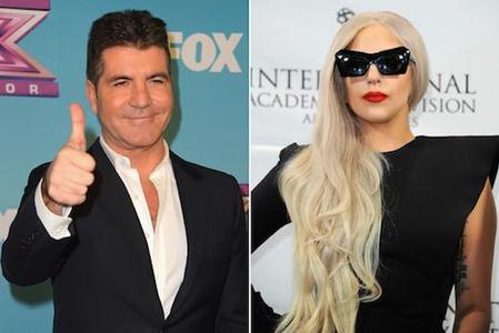 23627736 simon cowell vuole lady gaga factor potrebbe farcela 0 - Lady GaGa nuovo giudice a X Factor USA 2013?