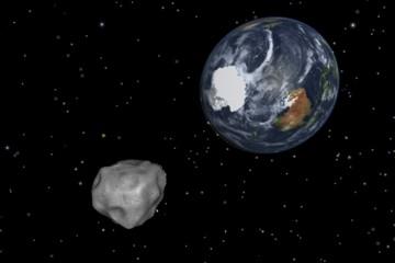 Asteroide DA14 in arrivo il 15 Febbraio - L'asteroide DA14 ha sfiorato la terra ad una distanza record