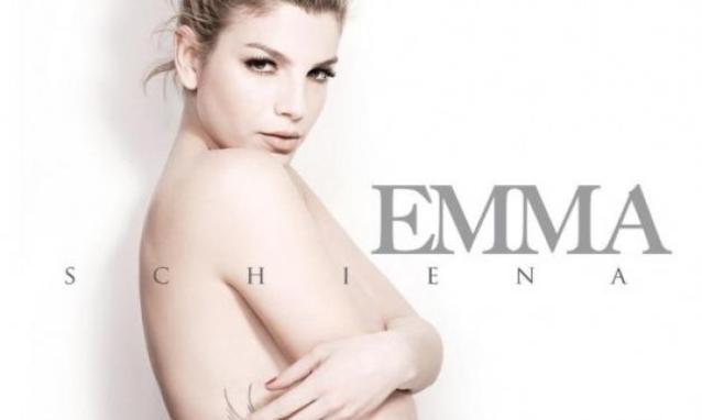 Emma mostra Schiena il suo nuovo album h partb - Emma Marrone: nuovo Album e nuovo Amore