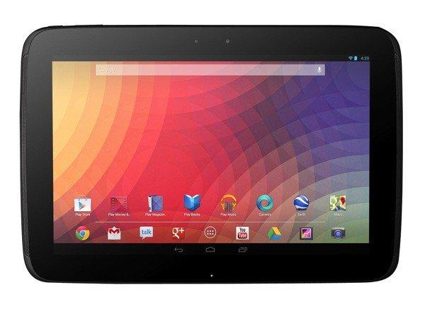 nexus 10 product image2 - Google, Microsoft e Amazon lanciano i loro nuovi tablet sul mercato