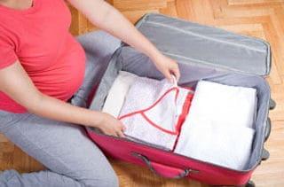valigia parto 2 - Cosa mettere in valigia per il parto in ospedale