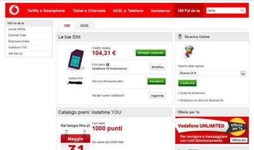 vodafone - Nuovo accordo sugli acquisti mobile tra Microsoft e Vodafone