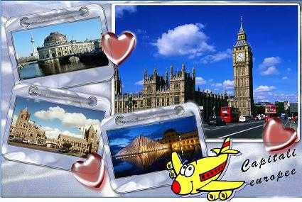 1.capitali europee - Le migliori Capitali europee da visitare