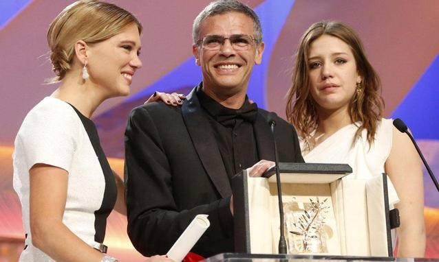 """Cannes 2013 La vie d Adele Abdellatif Kechiche vincitori - """"La vie d'Adele"""" vince la 66esima edizione del Festival di Cannes"""