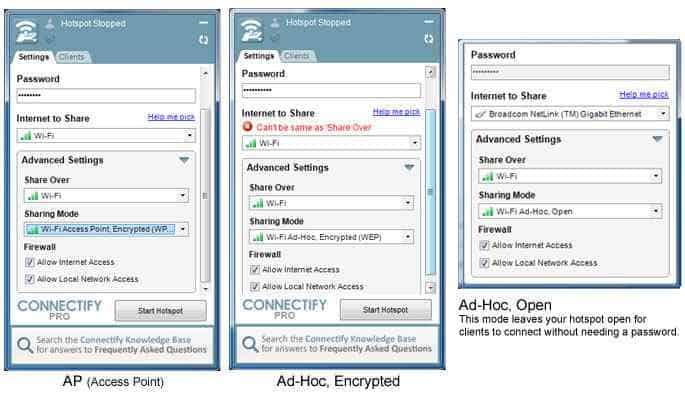 connectfy - Come condividere la connessione con la Internet Key tra PC
