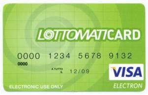 Lottomaticard - Come funziona la Lottomaticard