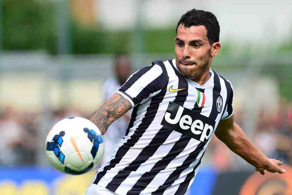 Carlos Tevez Juventus - Probabili Formazioni 2013-14: Juventus, Lazio, Livorno, Milan