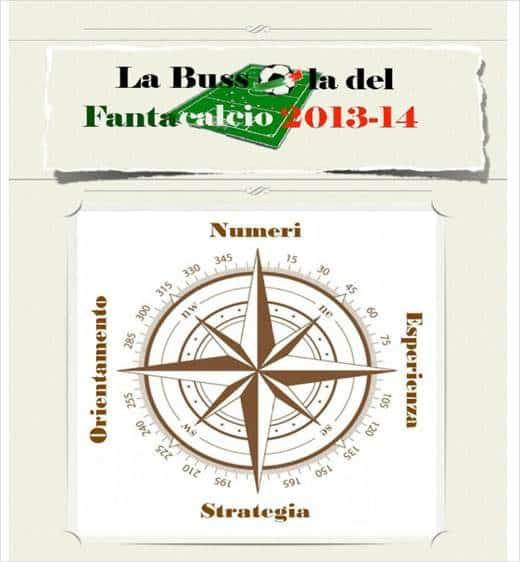 Bussola Fantacalcio 2013 14 - La Bussola del Fantacalcio 2013-14 - il libro per gli amanti del fantacalcio