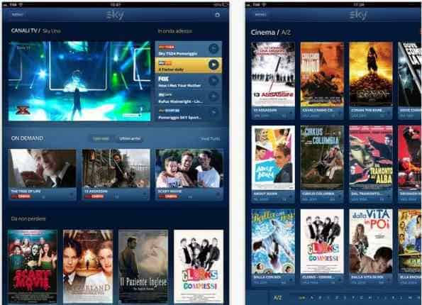 skygoOnDemand - Sky TV in streaming con Sky Go e i contenuti On Demand