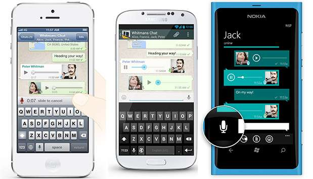 whatsapp messaggi vocali 1 - WhatsApp si rinnova e introduce i messaggi vocali