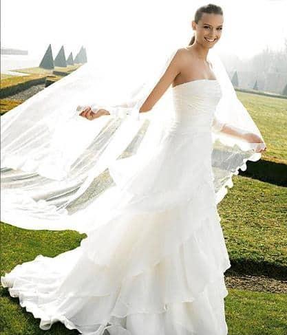 1.velo da sposa - La scelta del velo da sposa