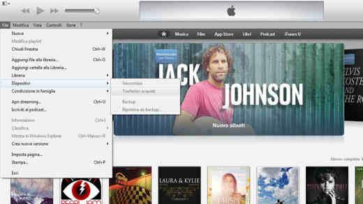 Come trasferire le App da un iPhone all'altro con iTunes