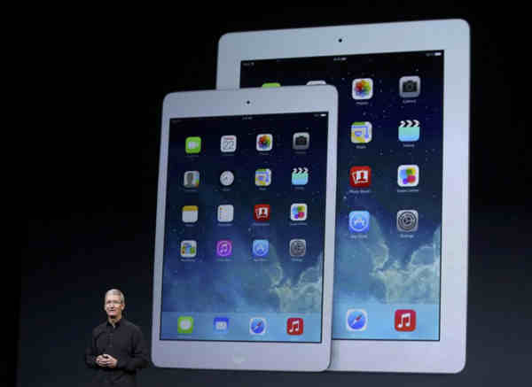 ipadAIR - La Apple lancia l'iPad Air e regala l'OSX Maverick
