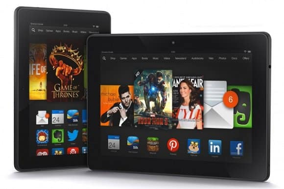 kindle fire hdx - Amazon lancia i Kindle Fire HDX da 7 e 8.9 pollici