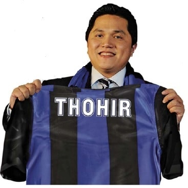 thohir - L'Inter è di Thohir: rilevato il 70% della società nerazzurra