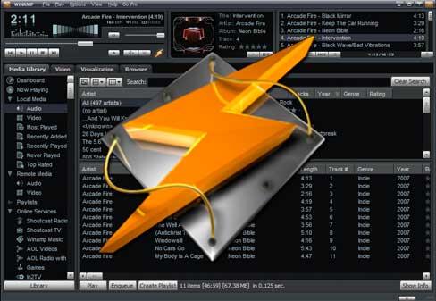 Winamp Features - Il 21 dicembre 2013 chiuderà il popolare lettore musicale Winamp