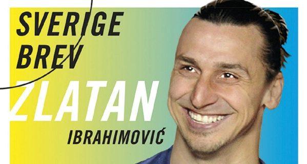 francobollo ibra - La Svezia dedica un francobollo a Zlatan Ibrahimovic